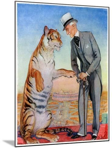 Lord Willingdon and Friend, 1934--Mounted Giclee Print