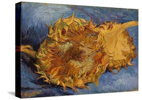 The Sunflowers, 1887-Vincent van Gogh-Stretched Canvas Print