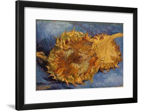The Sunflowers, 1887-Vincent van Gogh-Framed Art Print