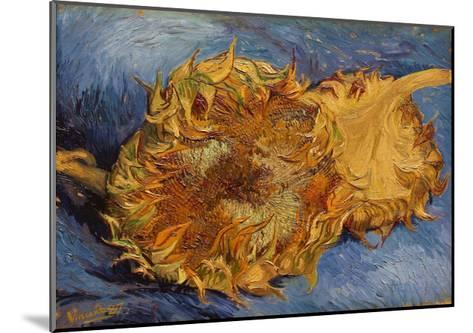 The Sunflowers, 1887-Vincent van Gogh-Mounted Giclee Print