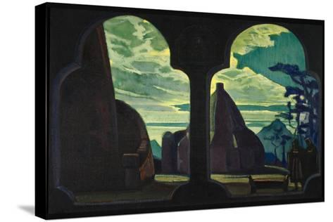 Stage Design for the Opera Tristan and Isolde by R. Wagner, 1912-Nicholas Roerich-Stretched Canvas Print