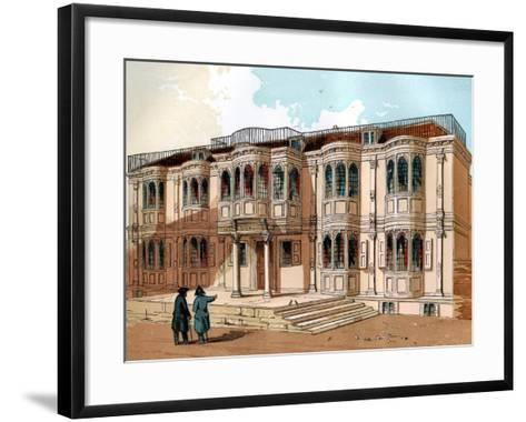 Old Palace at Greenwich, C1850--Framed Art Print
