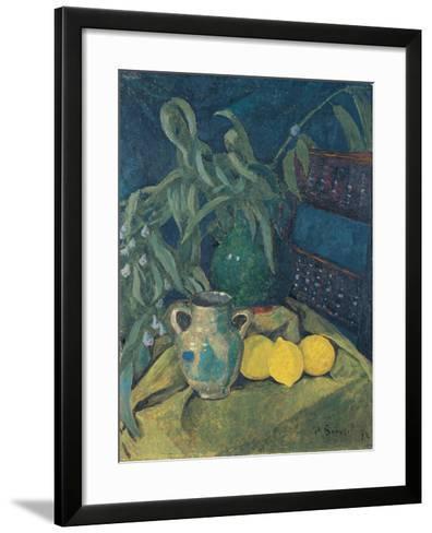 Synchrony in Green, 1913-Paul Sérusier-Framed Art Print