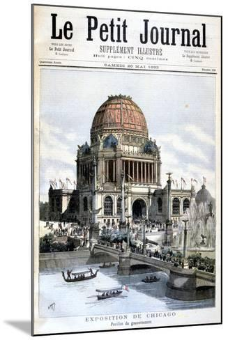 Us Government Pavilion, Chicago Exhibition, 1893--Mounted Giclee Print