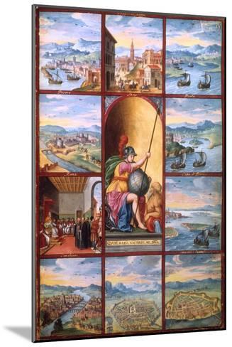 Voyage Dans Les Pouilles, 16th Century--Mounted Giclee Print