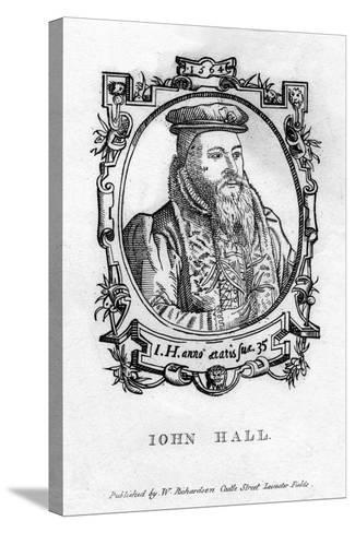 John Hall (C1575-163), English Physician--Stretched Canvas Print