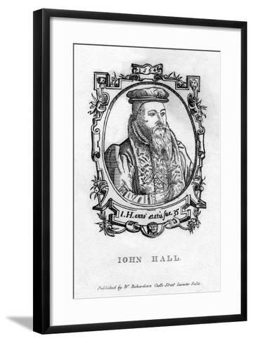 John Hall (C1575-163), English Physician--Framed Art Print