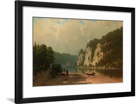 Chusovaya River-Pyotr Petrovich Vereshchagin-Framed Art Print