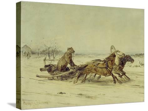 General Toptygin, 1875-Pyotr Petrovich Sokolov-Stretched Canvas Print