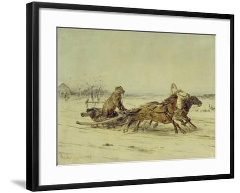 General Toptygin, 1875-Pyotr Petrovich Sokolov-Framed Art Print
