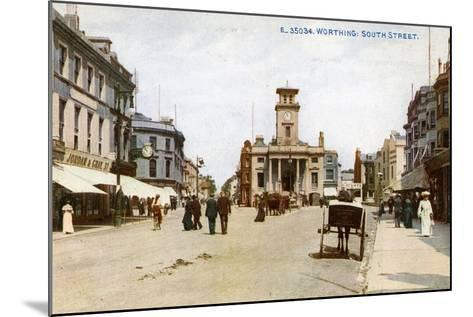 South Street, Worthing, Sussex, C1900s--Mounted Giclee Print