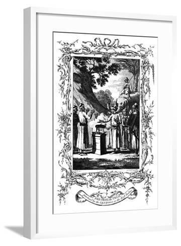 The Ordeal Trial, 1792--Framed Art Print