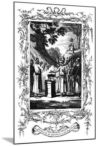 The Ordeal Trial, 1792--Mounted Giclee Print
