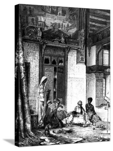 Harem in a Caliph Mansion, 1880--Stretched Canvas Print