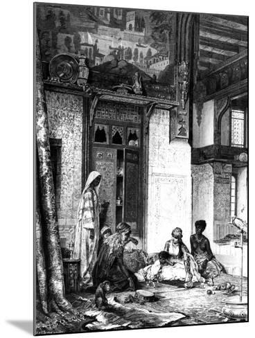 Harem in a Caliph Mansion, 1880--Mounted Giclee Print