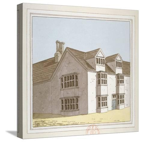 Priory at Hadley, Middlesex, C1800--Stretched Canvas Print
