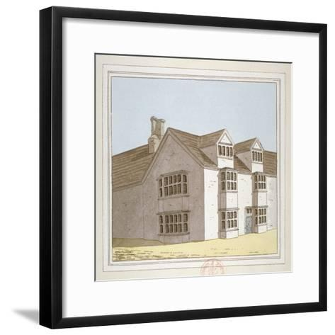 Priory at Hadley, Middlesex, C1800--Framed Art Print