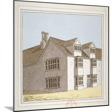 Priory at Hadley, Middlesex, C1800--Mounted Giclee Print
