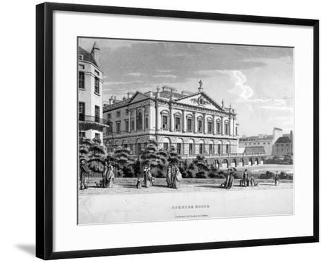 Spencer House, Westminster, London, 1800--Framed Art Print