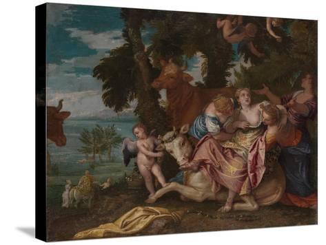 The Rape of Europa, C. 1570-Paolo Veronese-Stretched Canvas Print