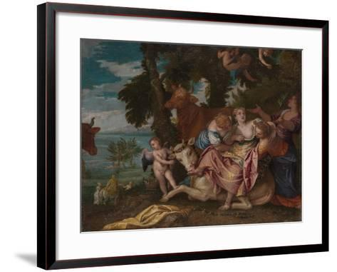 The Rape of Europa, C. 1570-Paolo Veronese-Framed Art Print