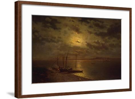 Moonlit Night, 1870S-Lev Lyvovich Kamenev-Framed Art Print