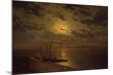 Moonlit Night, 1870S-Lev Lyvovich Kamenev-Mounted Giclee Print