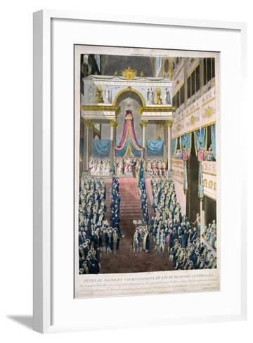 Napoleon Bonaparte Is Crowned Emperor Napoleon I, 2nd December, 1804, 19th Century--Framed Art Print