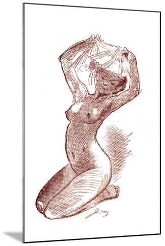 Study, 1901-Louis Morin-Mounted Giclee Print