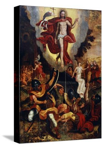 The Ascension of Christ, Second Half of 16th Century--Stretched Canvas Print