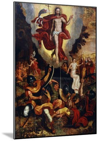 The Ascension of Christ, Second Half of 16th Century--Mounted Giclee Print