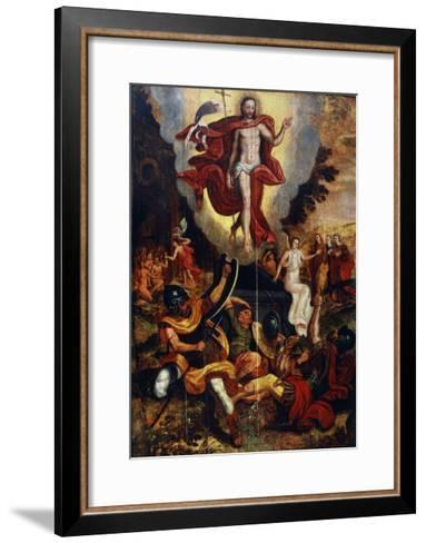 The Ascension of Christ, Second Half of 16th Century--Framed Art Print