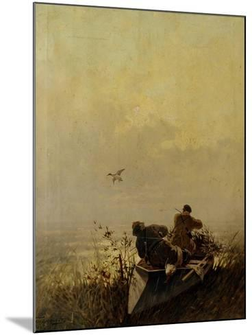 Duck Hunting, 1905-Evgeny Alexandrovich Tichmenev-Mounted Giclee Print