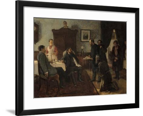 Applicants, 1888-Firs Sergeevich Zhuravlev-Framed Art Print
