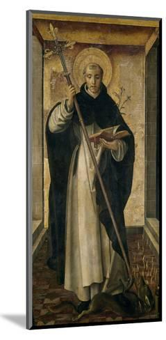 Saint Dominic, 1493-1499-Pedro Berruguete-Mounted Giclee Print