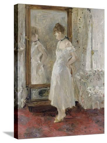 The Cheval Glass, 1876-Berthe Morisot-Stretched Canvas Print