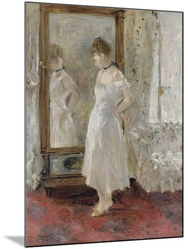 The Cheval Glass, 1876-Berthe Morisot-Mounted Giclee Print