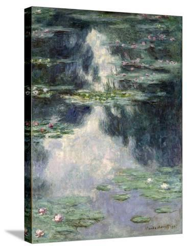 Pond with Water Lilies, 1907-Claude Monet-Stretched Canvas Print