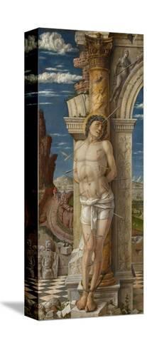 Saint Sebastian, Ca 1459-Andrea Mantegna-Stretched Canvas Print