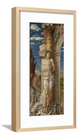 Saint Sebastian, Ca 1459-Andrea Mantegna-Framed Art Print