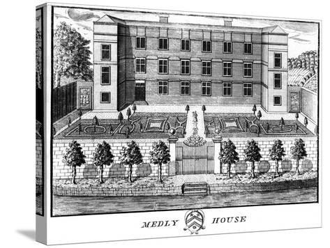 Medley House, Oxford--Stretched Canvas Print