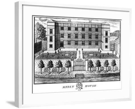 Medley House, Oxford--Framed Art Print
