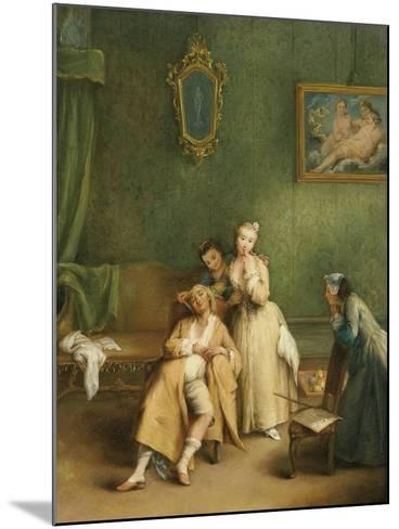 The Tickle, C. 1755-Pietro Longhi-Mounted Giclee Print