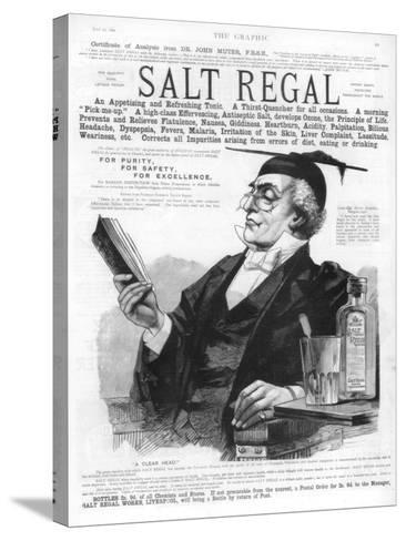 Advertisement for Salt Regal Tonic, 1890--Stretched Canvas Print