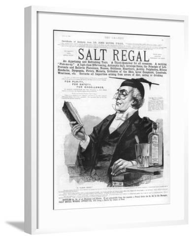 Advertisement for Salt Regal Tonic, 1890--Framed Art Print