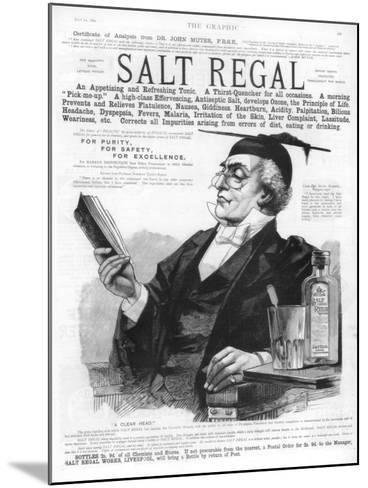 Advertisement for Salt Regal Tonic, 1890--Mounted Giclee Print