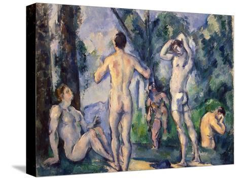 Bathers, C. 1890-Paul C?zanne-Stretched Canvas Print
