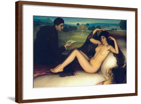 Venus of Poetry, 1913-Julio Romero de Torres-Framed Art Print