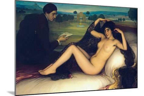 Venus of Poetry, 1913-Julio Romero de Torres-Mounted Giclee Print
