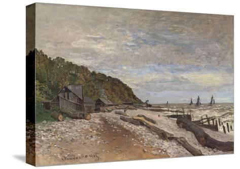 Le Chantier De Petits Navires, Près De Honfleur, 1864-Claude Monet-Stretched Canvas Print